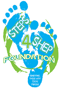 Steps for Shep Retina Logo
